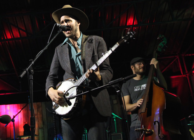 NEPA jamgrass band Cabinet reunites with Railroad Earth at Pat Garrett Amphitheater in Bethel on Aug. 31