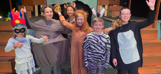 Young cast brings 'Madagascar' musical to Music Box Dinner Playhouse in Swoyersville Aug. 9-11