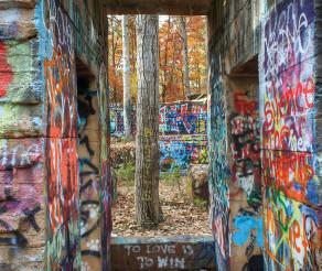 Explore 'Graffiti Scapes' of Mid-Atlantic ghost towns at Penn College exhibit in Williamsport through Oct. 6