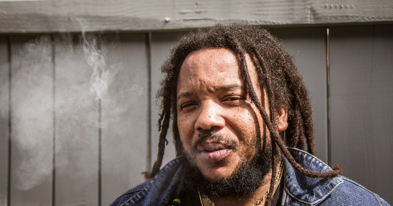At Peach Fest, Stephen Marley talks creativity, family, and witnessing the power of music