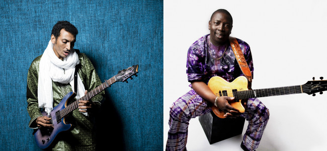 African guitar masters Bombino and Vieux Farka Toure play at Kirby Center in Wilkes-Barre on Oct. 17