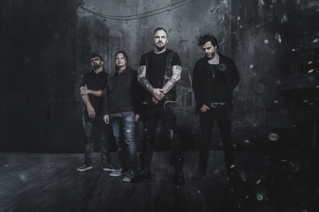 Rock supergroup Saint Asonia plays free acoustic show at Magdon Music in Olyphant on Oct. 1