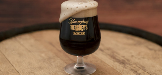 Pennsylvania brands Yuengling and Hershey's team up to create new beer, Chocolate Porter