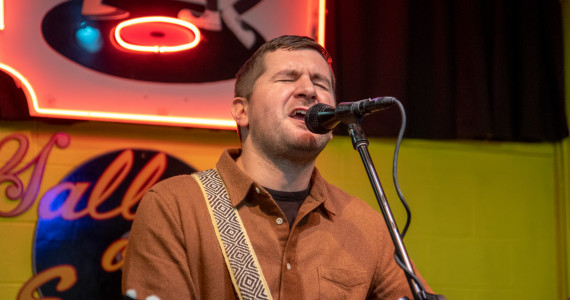 PHOTOS/VIDEO: The Menzingers' 'Hello Exile' acoustic set at Gallery of Sound in Wilkes-Barre, 10/06/19