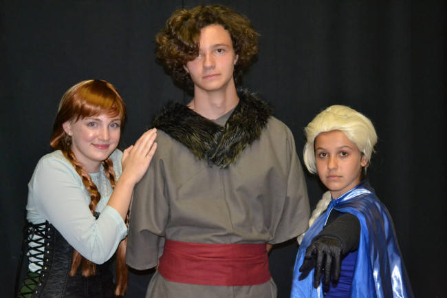 Two young casts 'Let It Go' with Disney's 'Frozen Jr.' at Act Out Theatre in Dunmore Oct. 11-20