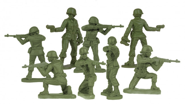 BMC Toys in Scranton blows up Kickstarter goal to make first plastic army women figures