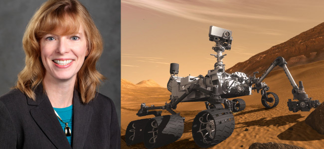 Misericordia University dean shares NASA and Mars rover stories at free talk on Nov. 5