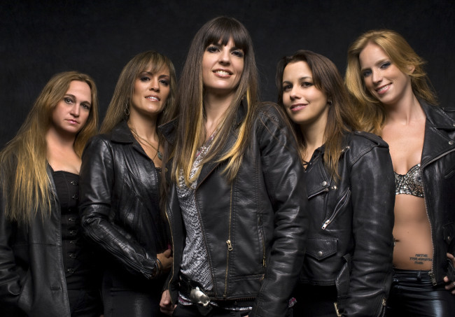 All-female Iron Maiden and Mötley Crüe tribute acts perform at Penn's Peak in Jim Thorpe on June 26