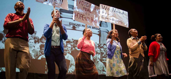 Musical story of Selma Voting Rights March comes to Kirby Center in Wilkes-Barre on Feb. 21