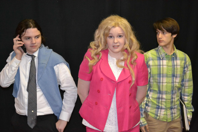 Young cast (and 'chihuahua') performs in 'Legally Blonde' musical at Act Out Theatre in Dunmore Dec. 13-22