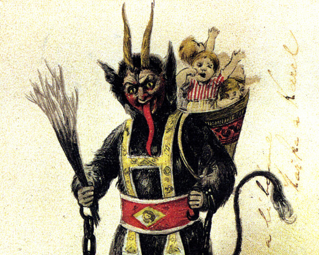 Skip Santa and get a photo with Krampus at The Strange and Unusual in Kingston on Dec. 22