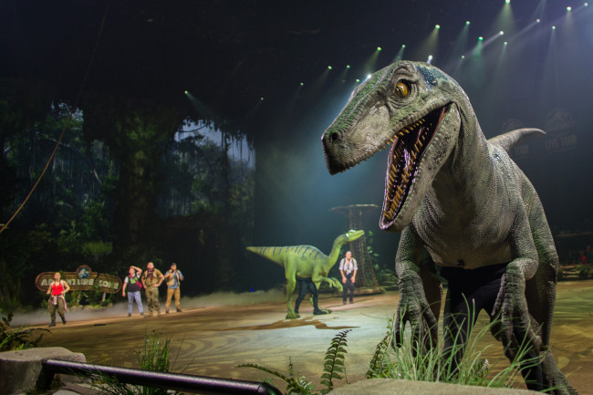 'Jurassic World' dinosaurs come to life at Mohegan Sun Arena in Wilkes-Barre Nov. 19-22