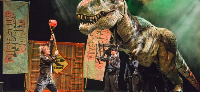 Kids can meet T. rex and more at 'Dinosaur World Live' at Kirby Center in Wilkes-Barre on March 14