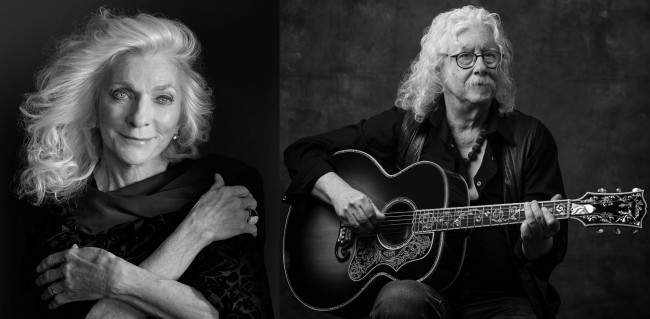 Folk icons Judy Collins and Arlo Guthrie perform at Penn's Peak in Jim Thorpe on July 24