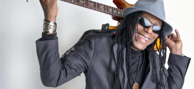 Guitarist Junior Marvin leads Legendary Wailers at Penn's Peak in Jim Thorpe on May 16