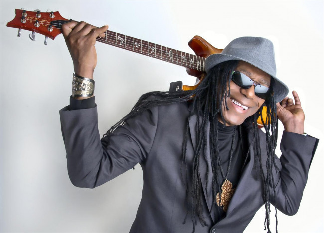 Guitarist Junior Marvin leads Legendary Wailers at Penn's Peak in Jim Thorpe on May 16