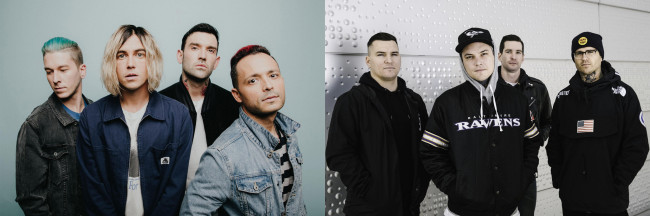 Sleeping with Sirens and Amity Affliction co-headline concert at Sherman Theater in Stroudsburg on May 14