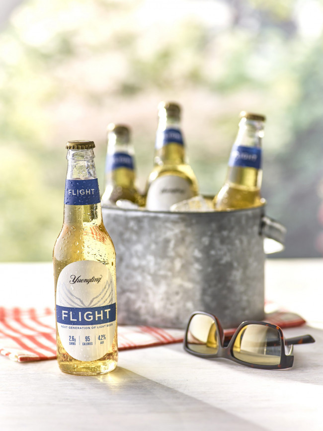 Yuengling takes Flight with new 'upscale light beer' with low carbs and calories