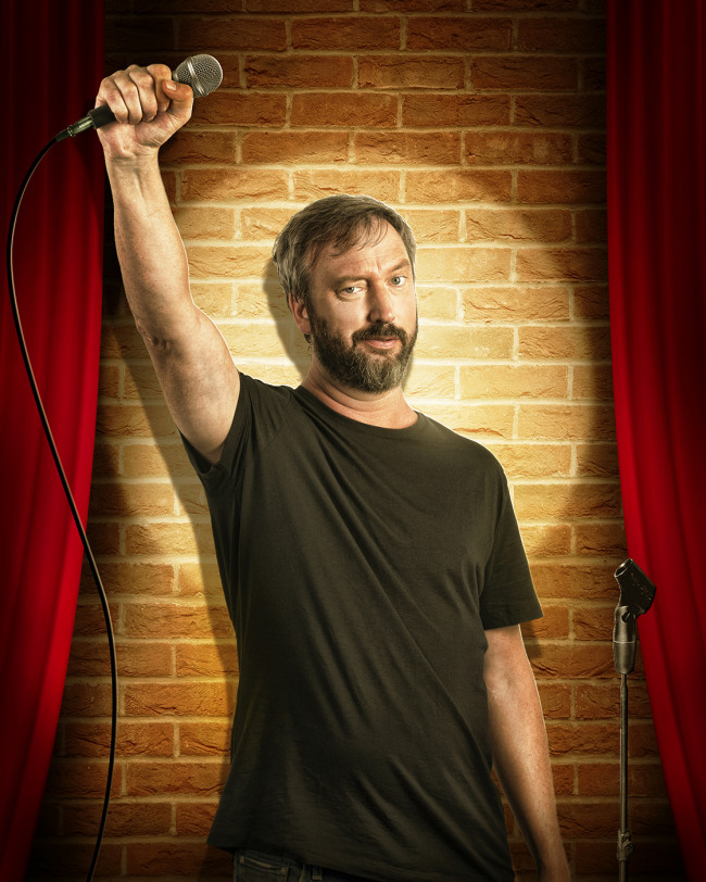 Comedian Tom Green performs 2 stand-up shows at Mauch Chunk Opera House in Jim Thorpe on April 5
