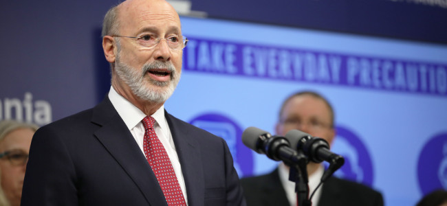 Gov. Wolf issues guidelines to suspend Pennsylvania gatherings and events for 14 days