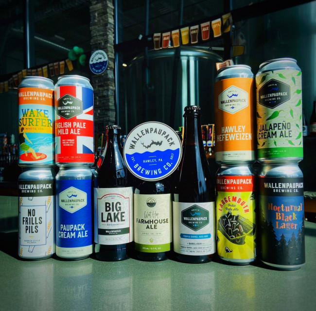 Wallenpaupack Brewing Company in Hawley offers 14-Day Quarantine Pack with takeout and delivery
