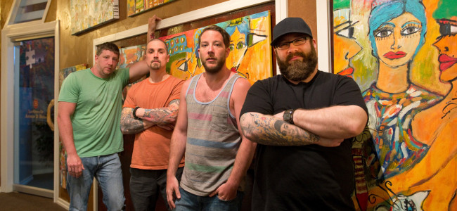 VIDEO PREMIERE: Wilkes-Barre rockers Zayre Mountain salute those jumping 'Into the Fire' of coronavirus pandemic