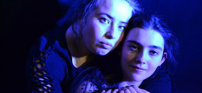 Two young ladies star as 'Romeo and Juliet' at Act Out Theatre in Dunmore March 20-22