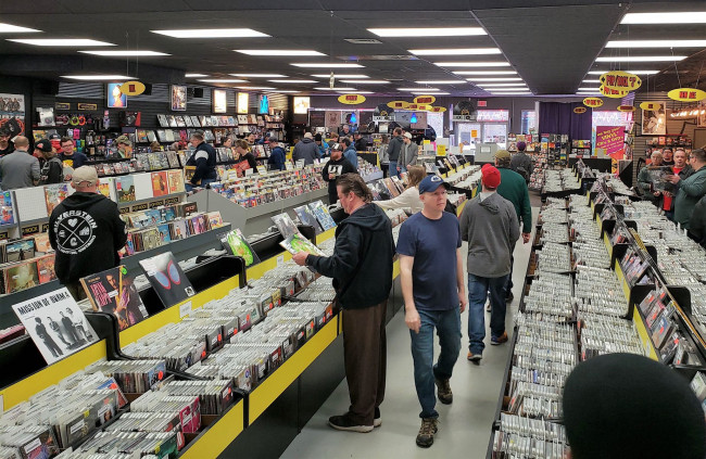 Online screening of 'Vinyl Nation' documentary benefits indie record stores like Gallery of Sound in Wilkes-Barre and Dickson City