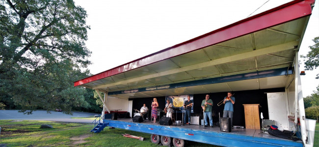 Nay Aug Park in Scranton hosts free concerts every Sunday through Sept. 27
