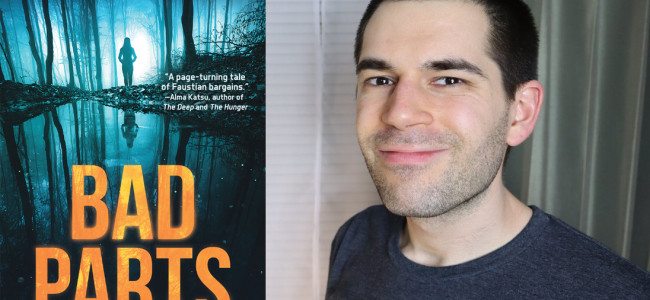 Wilkes-Barre author Brandon McNulty unleashes debut supernatural thriller 'Bad Parts'