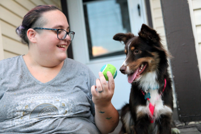 From singer to whisperer, Scranton musician Katie Evans starts dog training business