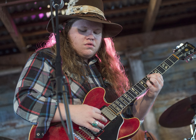 Marcus King Trio plays Southern rock live at Circle Drive-In in Dickson City on Sept. 6