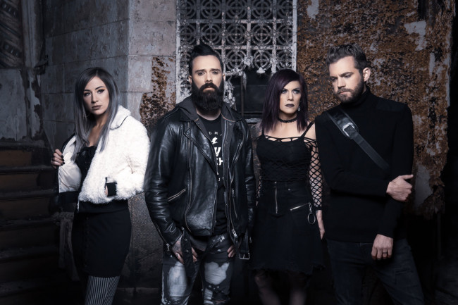 Multi-platinum rockers Skillet perform live at Circle Drive-In in Dickson City on Oct. 2