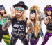 Comedic glam metal band Steel Panther plays live at Circle Drive-In in Dickson City on Sept. 12