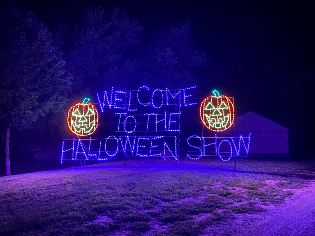 New drive-thru Halloween Light Show opens at Lakeland Orchard & Cidery in Scott Twp. on Sept. 18