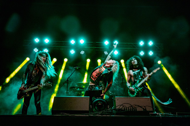 PHOTOS: Steel Panther and Freddie Fabbri at Circle Drive-In in Dickson City, 09/12/20