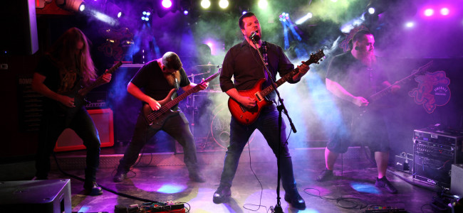 'Behind the Mask' of melodic metal band The Aegean – the making of the music video in Scranton