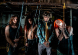 VIDEO: Pa. metal band Tallah plays new album 'Matriphagy' inside horror attraction 'Prison of the Dead'