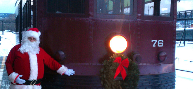 Electric City Trolley Museum in Scranton offers virtual visits from Santa on Nov. 27-Dec. 20