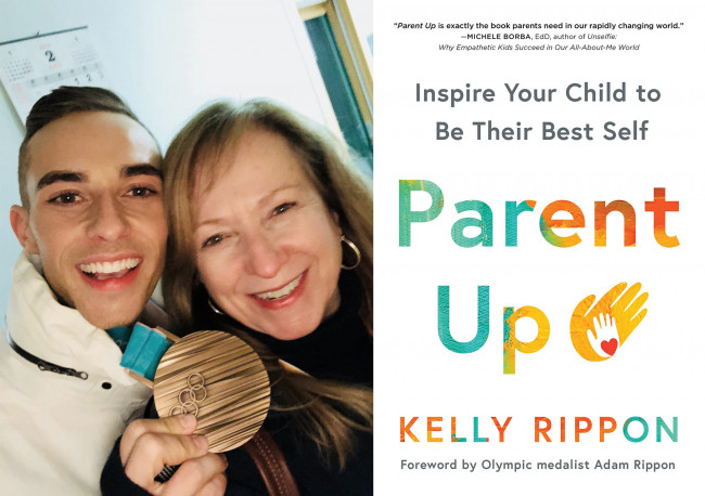 Kelly Rippon, mother of Clarks Summit Olympian Adam Rippon, writes parenting book, 'Parent Up'
