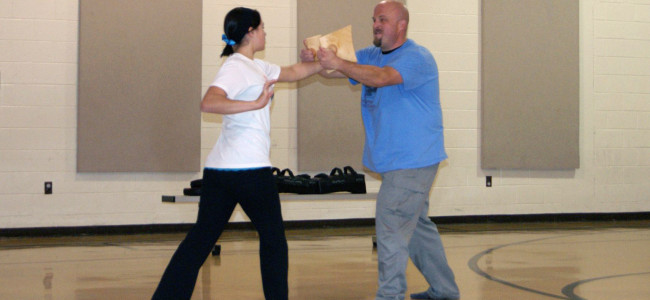 ARCHIVES: Riverside students 'Fight Like a Girl' in self-defense demo at Taylor Community Center