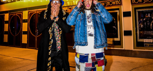 Allentown hip-hop reggae duo Space Kamp streams live from Emmaus Theatre on Jan. 15