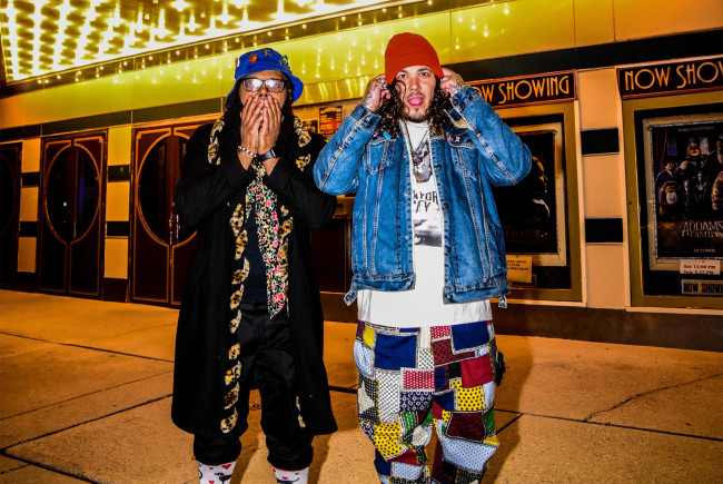 Allentown hip-hop reggae duo Space Kamp streams live from Emmaus Theatre on Jan. 15