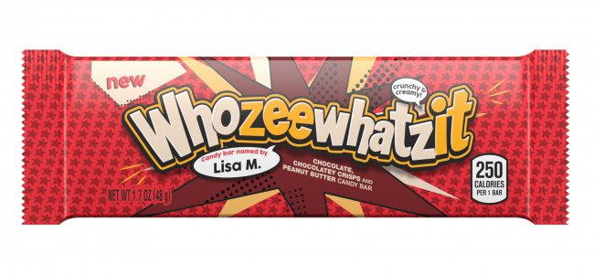 Hershey's Whatchamacallit produces a Whozeewhatzit, a new fan-named candy bar