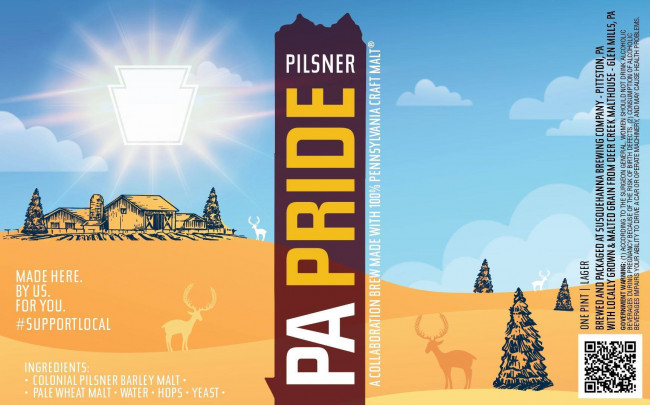 Pennsylvania breweries team up for release of PA Pride Pilsner collaboration beer on Feb. 5