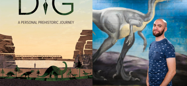 Pittston author shares love of dinosaurs in 'Dig: A Personal Prehistoric Journey' virtual event on Jan. 21