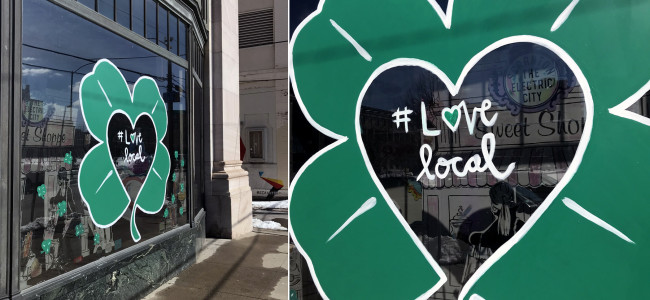 Scranton Tomorrow's #lovelocal small business campaign continues online and downtown