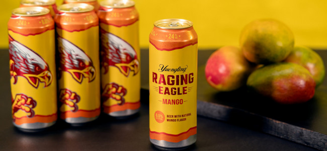 Yuengling launches new Raging Eagle mango beer, available now in 24 oz. cans