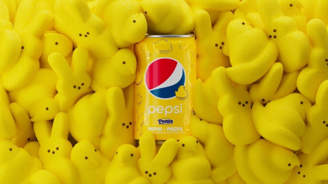 Just Born in Bethlehem collaborates with Pepsi to make Peeps marshmallow cola
