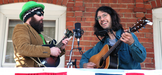 New live music series debuts on neighborhood porches in Scranton's Hill Section on April 17
